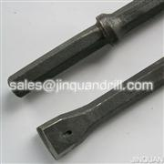 Best efficiency integral drill rod for hard rock drilling