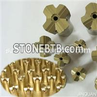 Cross bits for tapered rod
