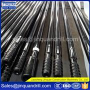 thread extension drill rod for rock hole drilling