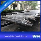DTH drill pipes thread rod for ore mining