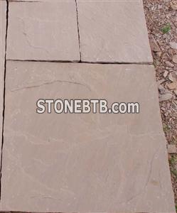 Autumn Brown Sandstone Pavers