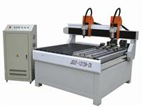 CNC router machine JCUT-1212A-2X(with double spindles and rotary)