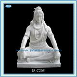 Sell Antique Hand Carved White Marble Statue Of Lord Shiva