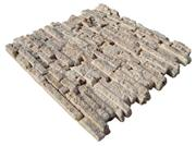 Beige Travertine Split Mosaic