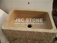 YF210B  Travertine Huge Sink