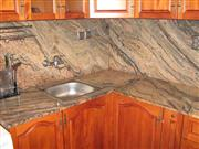 Vyara Granite Countertop, Backsplash