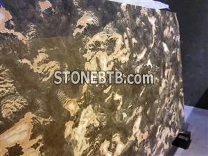 Golden Butterfly Marble Slabs