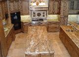 Brazilian Exotic Granite Kitchen Tops, Islands