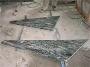 Green Granite Steps