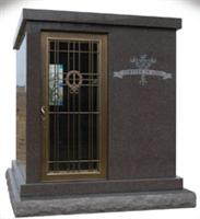 Red granite Mausoleum