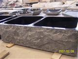 Onyx Marble Granite Travertine Sink, Pedastal