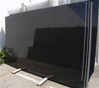 Absolute Black Gangsaw Slabs China Black Granite