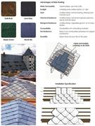 Natural Roofing Slate Roof Slate