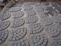 Granite Fan Pattern Paving