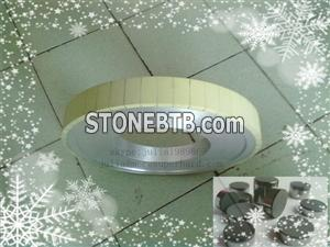 1A1 vitrified diamond cylinder grinding wheel for rough grinding PDC Cutter,PDC grinding wheel