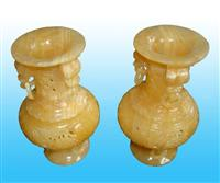 Yellow Onyx China Carving-1
