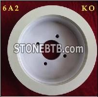11A2 ceramic bond diamond grinding wheel