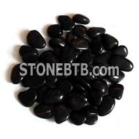 Polished Black Pebble