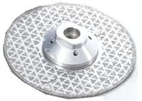 Electroplated vanity cutting blade