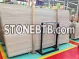 Guizhou wooden marble chinese marble white wooden marble