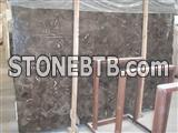 Chinese Net Fei marble slab China Marron Emperador