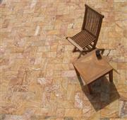 Antiqued Travertine Stone Pavers