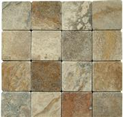 Tumbled Scabos Travertine Tiles