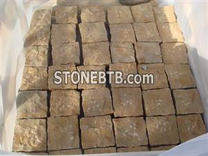 yellow sandstone-natural surface