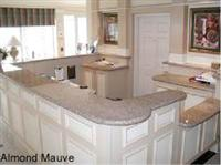 Granite Counter Tops-Almond Mauve