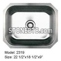 Single Bowl Under Mount Stainless Steel Sink