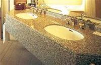 Granite Vanity Tops-Carioca Gold
