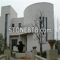WHITE SANDSTONE WALL(HARD STONE)