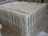 sandstone baluster/railings