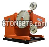 Professional diamond wire saw machine manufacturer direct deal 75KW for stone cutting