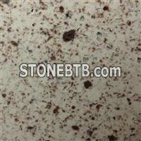 double color quartz stone slab quartz countertop NO.BL5132