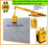 Abaco stone handling equipment ,abaco lifter, handling equipment, stone clamp, material handling equipment, granite, marble,