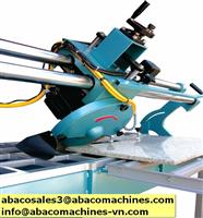 Abaco stone tool cuttting machine