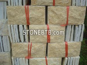 Golden Quartz Slate Stone