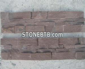reddish brown culture stone