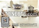 NV701 White Chocolate Quartz Stone Countertop