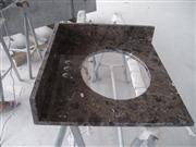 Dark Emperador Washroom Vanity Top