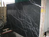 Nero Margiua Marble Slab Tile