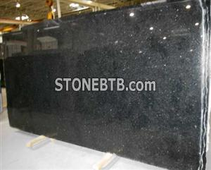 Angola Black  Granite Slab