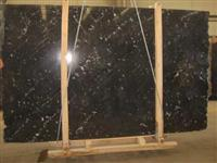 Black Via Lactea Granite Slab