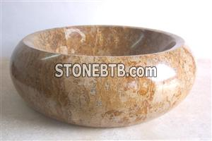 Sink & Basin(Gold Travertine)