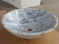Sink & Basin(Carrara White)