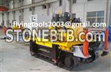 crawler chain saw machine