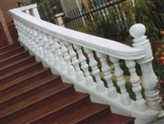 Pear White Railing