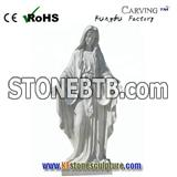 natural Marble Merry Statue Church