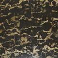 Marble- Black Golden Flower